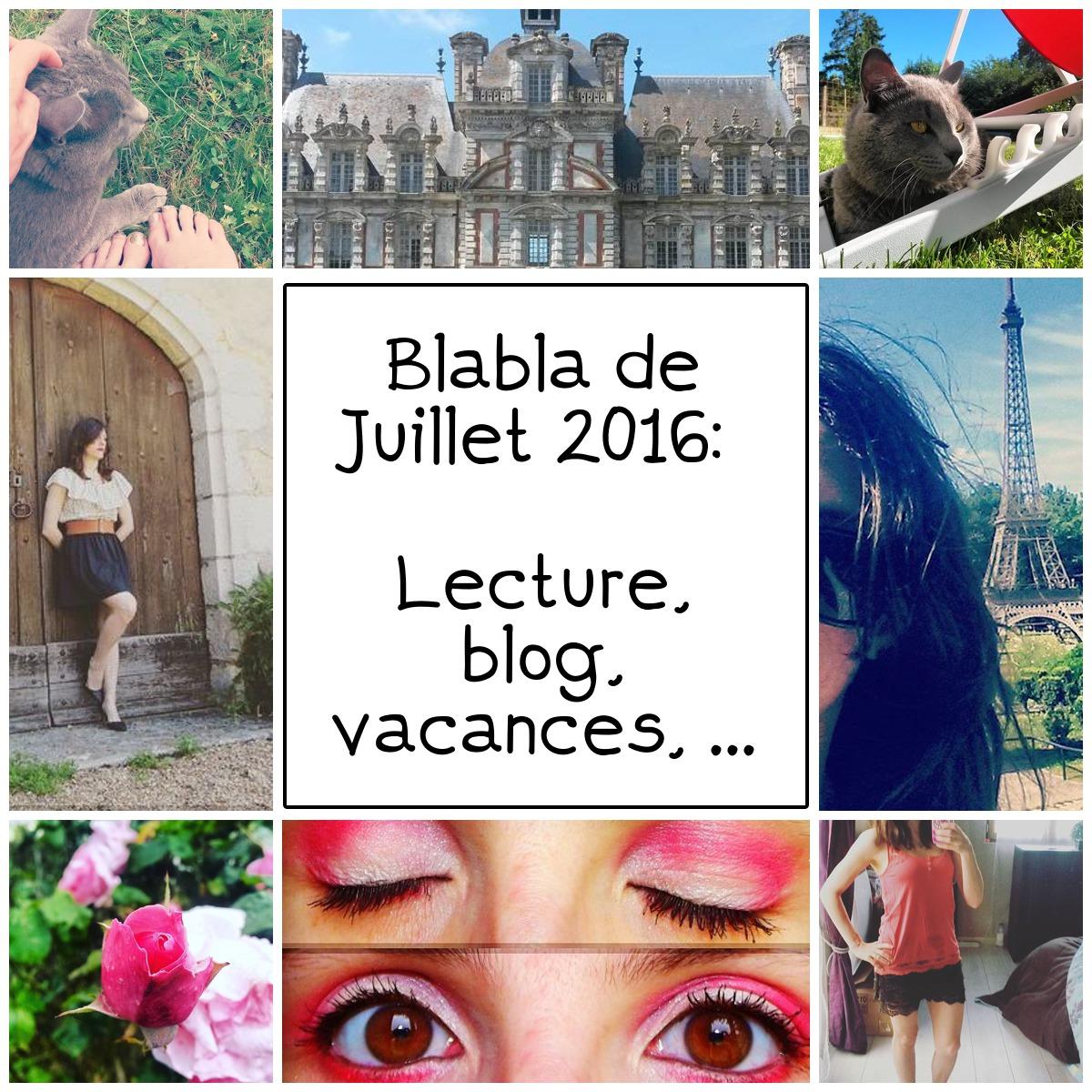 Lecture, blog, bilan, vacances