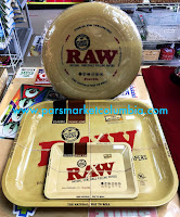 RAW rolling trays at Pars Market Columbia Howard County Maryland 21045