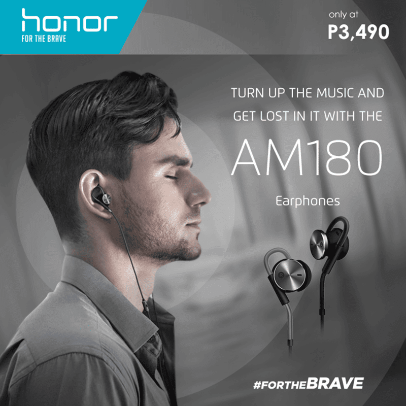 Huawei Honor AM180 Noise Cancelling Earphones Now In PH! Priced At Just 3,490 Pesos!