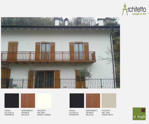 Ridipingere la facciata di casa blog di arredamento e for Colore facciata casa campagna