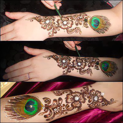 Latest Arabic Mehndi Designs From 2014 Simple Visions Of Mine