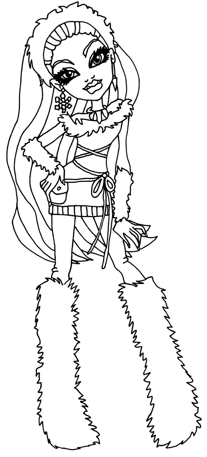29 Best Monster High Coloring Pages Images Coloring Pages For Kids