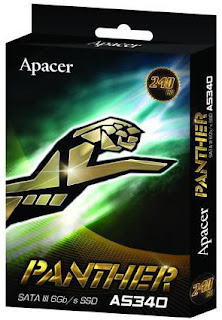SSD Apacer Panther AS340