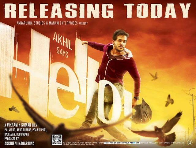 Hello Movie Review ,Hello Review,Akhil Hello movie review,Hello telugu movie review,Hello reviews,Hello Ratings,Hello Telugucinemas.in Review,Hello updates,Hello hit or flop,Hello Ratings in websites ,Sandeep Review on Hello