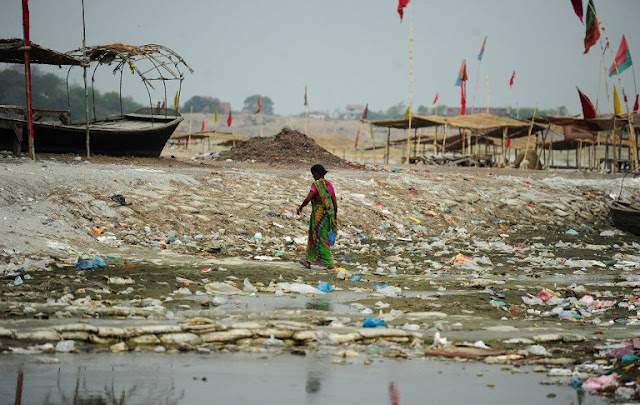 Plastic in rivers major source of ocean pollution: study