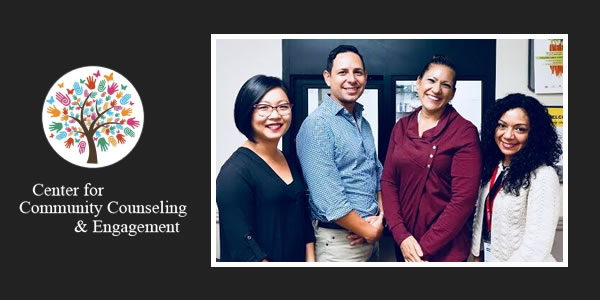 From left to right: Dr. Nellie Tran, Dr. Juan Camarena, Dr. Letty Pileski and Letti Estrella