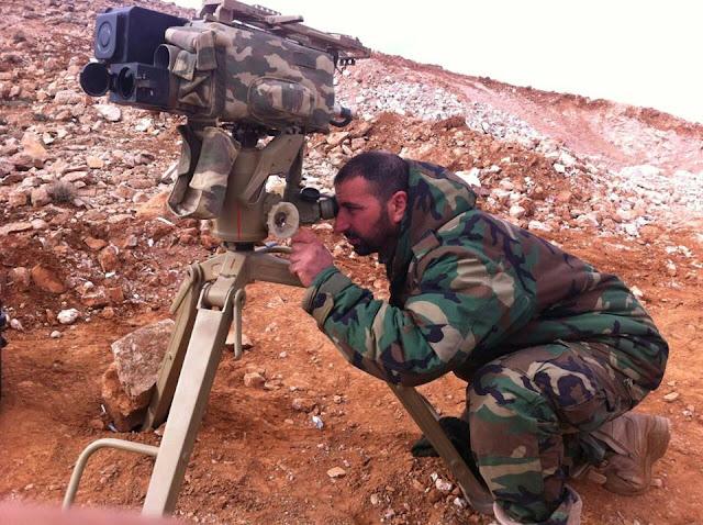 Kornet της Hezbollah με θερμική κάμερα