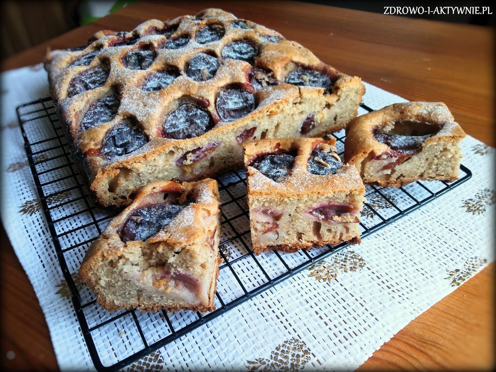 Aromatyczne ciasto ze śliwkami
