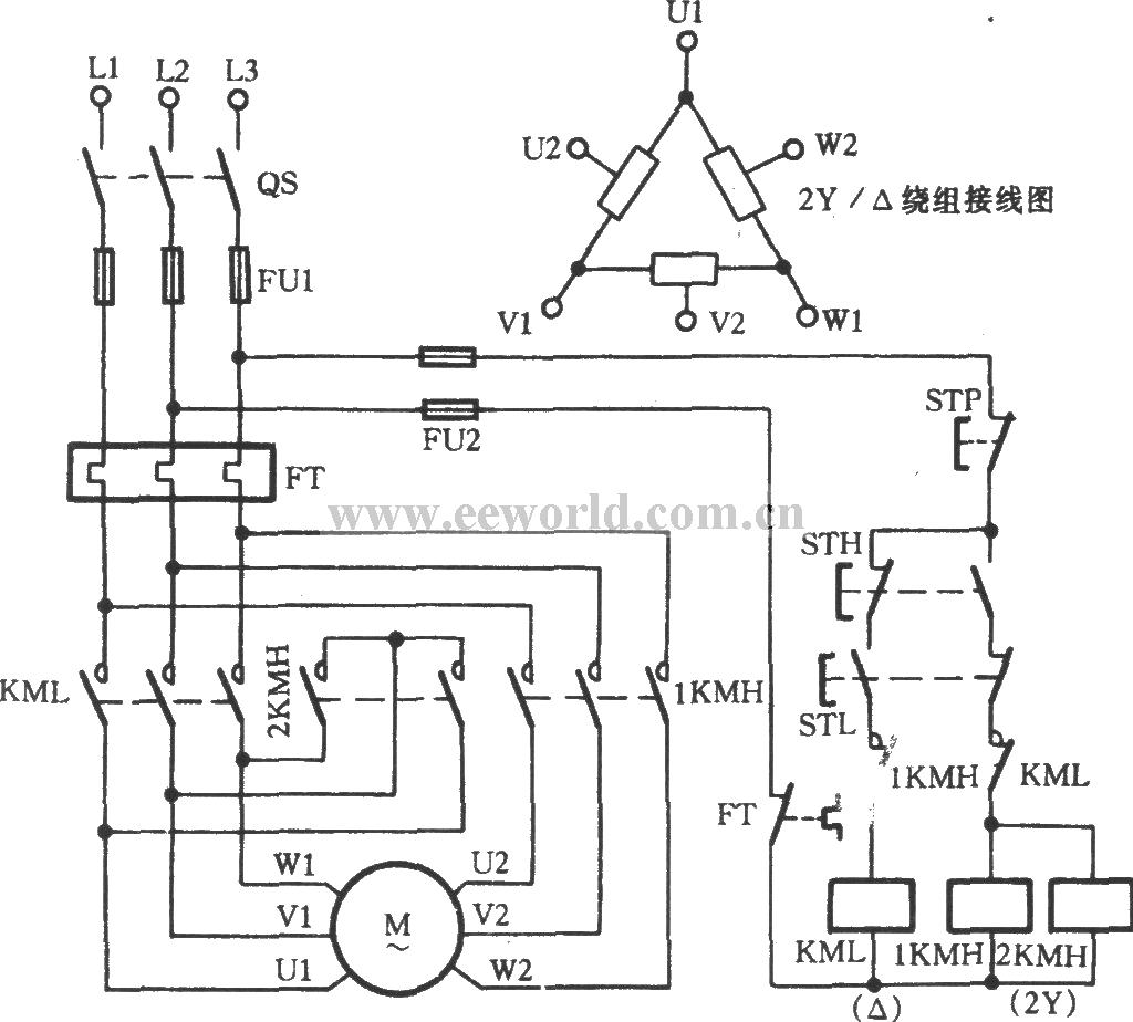 three phase ac motor starter wiring diagrams