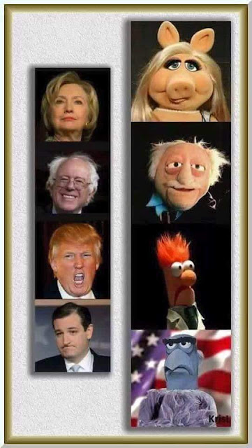 Jim Henson is running the country!