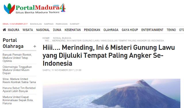 6 Misteri Gunung Lawu yang Dijuluki Tempat Paling Angker Se-Indonesia