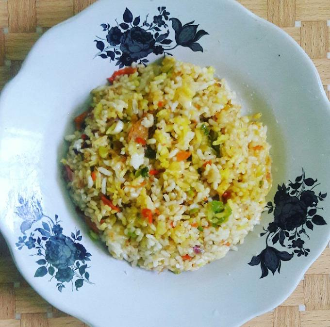 """Cooktime """"Nasi Goreng Puning"""" ala Nak Kost Masak"""