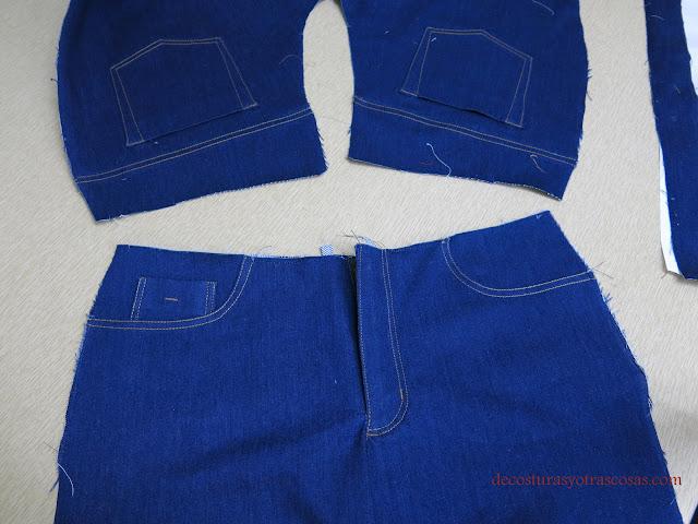 proceso de confección pantalón vaquero