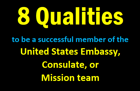 8 Qualities to be a successful member of the United States ...