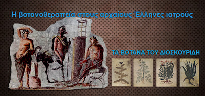Η βοτανοθεραπεία στους αρχαίους Έλληνες ιατρούς -ΤΑ ΒΟΤΑΝΑ ΤΟΥ ΔΙΟΣΚΟΥΡΙΔΗ