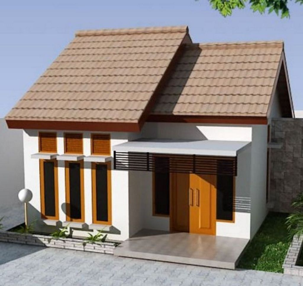 Gambar Rumah Kecil Tapi Menarik Modern
