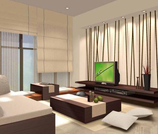 Desain Interior Ruang Keluarga sederhana yang nyaman