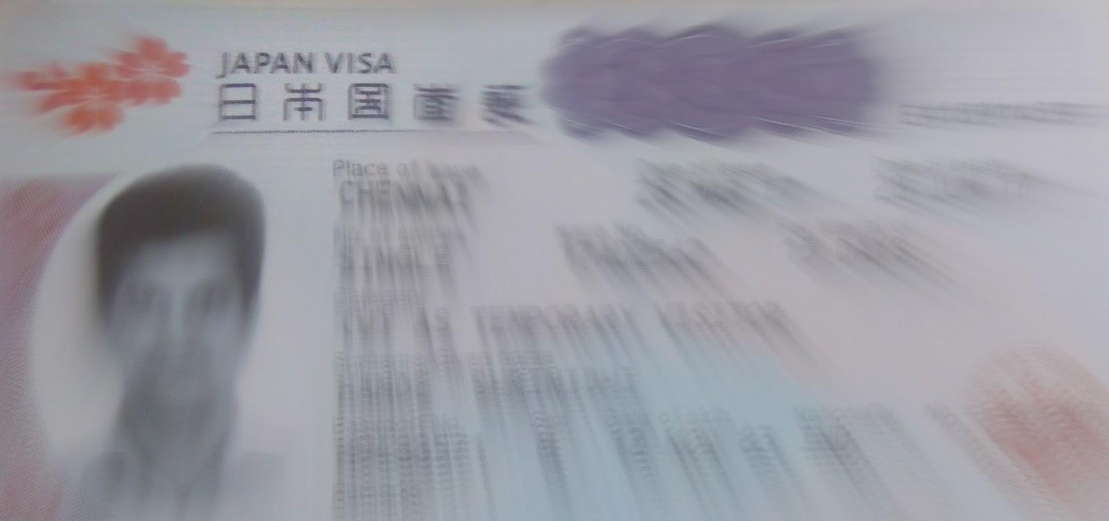 Japan Tourist Visa Process For Indians Enidhi India Travel Blog
