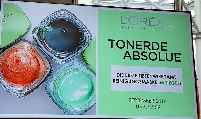 L´Oréal Paris Blogger Event am Tegernsee - Beauty Launches Herbst Tonerde Absolue Masken