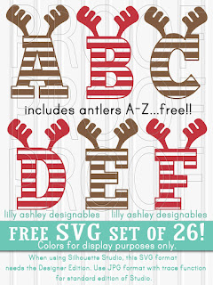 http://www.thelatestfind.com/2017/12/free-christmas-svg-set-of-antler-letters.html
