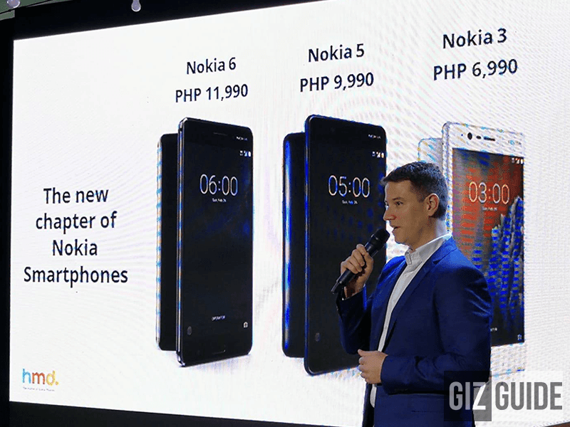 Nokia 3, 5, And 6 Now On Pre Order In PH!