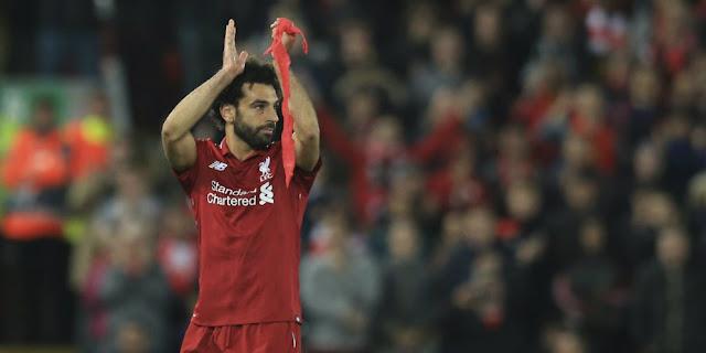 Liverpool Tutup Tahun Dengan Hadiah Indah dari Salah