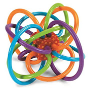 Toys with colorful wil be baby enjoy