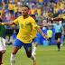 Com gols de Neymar e Firmino, Brasil vence o México por 2 a 0 e vai às quartas