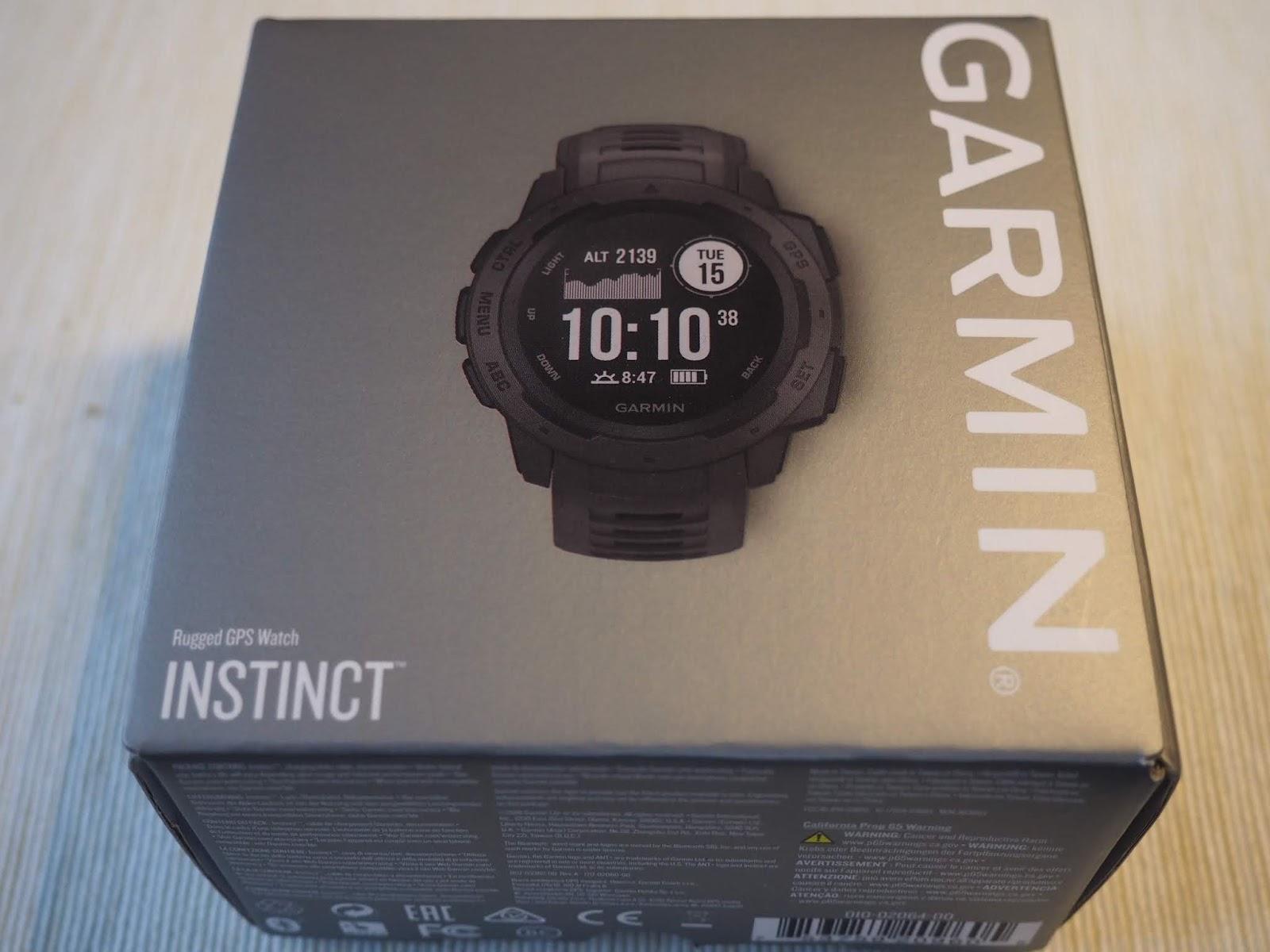 Garmin Instinct - recenze  13219db984