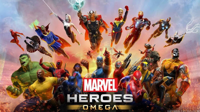 Marvel Heroes Omega issued the final version of the end of June on appliances: