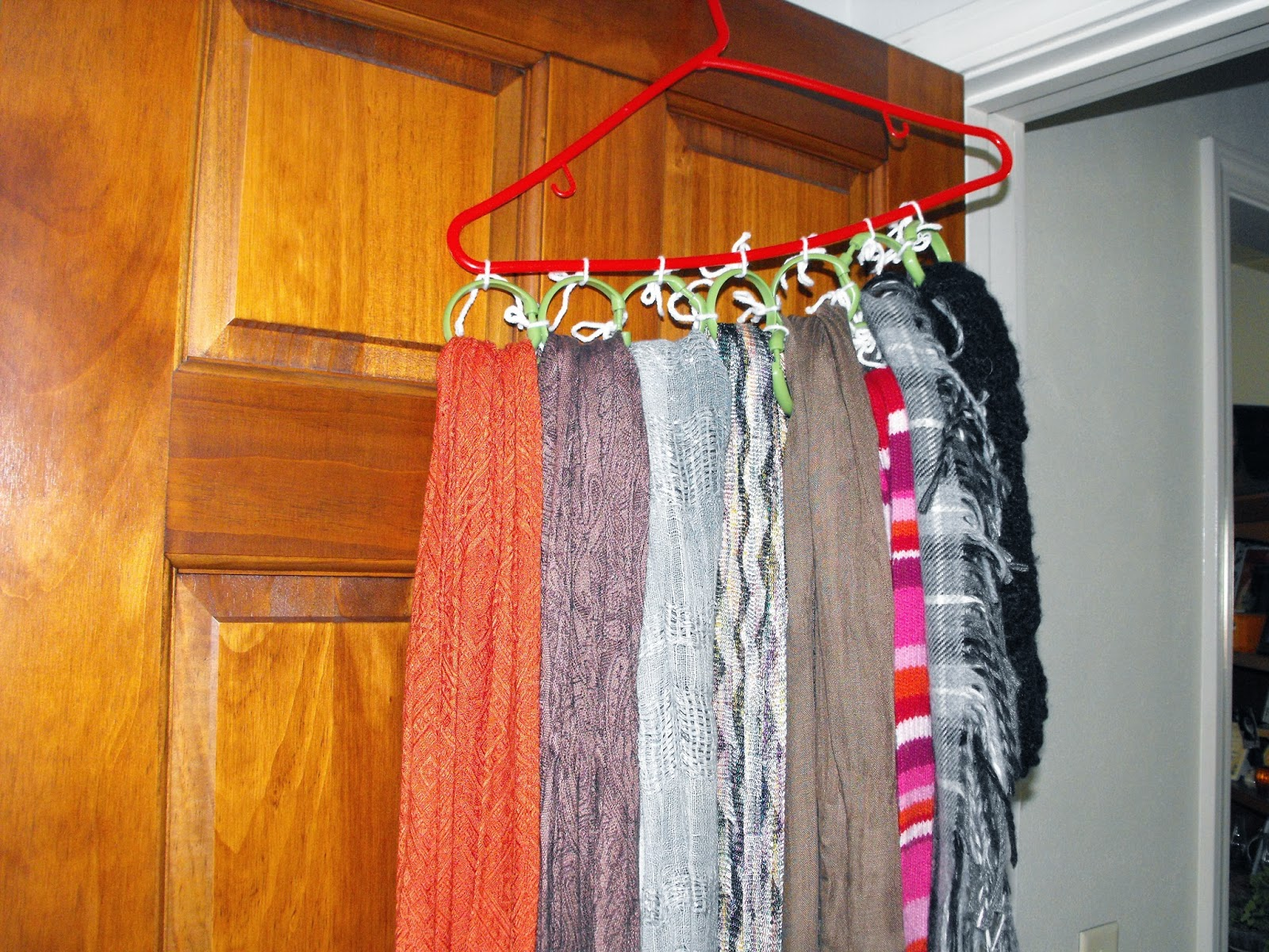 Smile for no reason: A DIY To Hold All Those Scarves