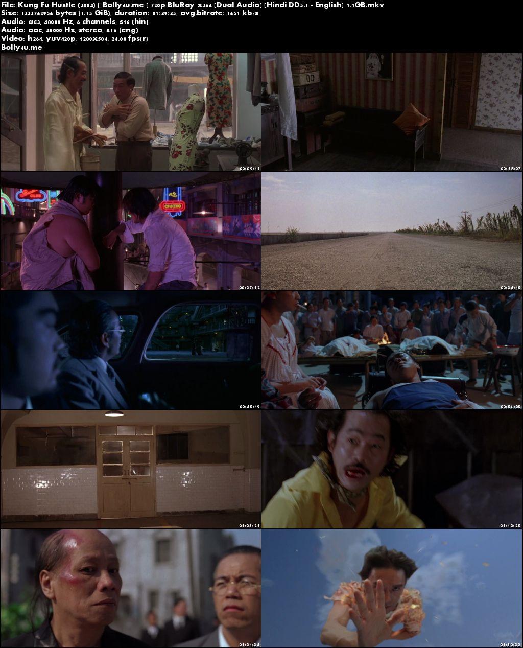 Kung Fu Hustle 2004 BluRay 300Mb Hindi Dual Audio 480p Download