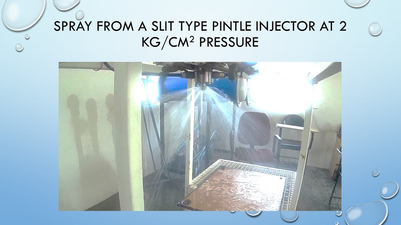 PINTLE INJECTOR: How To Make A Slit Type Pintle Injector To Be Used