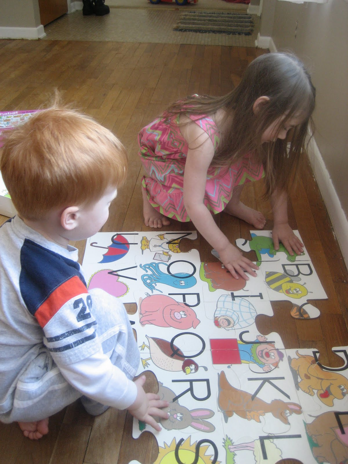 The Preschool Experiment Esau Jacob And The Letter Nn