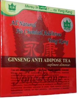 ceai de slabit anti adipos YongKang