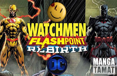 comic batman/the flash: the button bahasa indonesia
