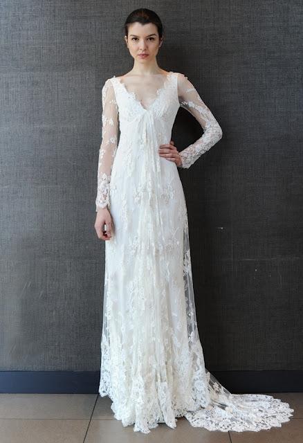 vestidos de novia sencillos para delgadas