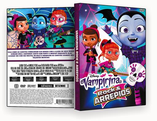 CAPA DVD – Vampirina Rock e Arrepios – ISO