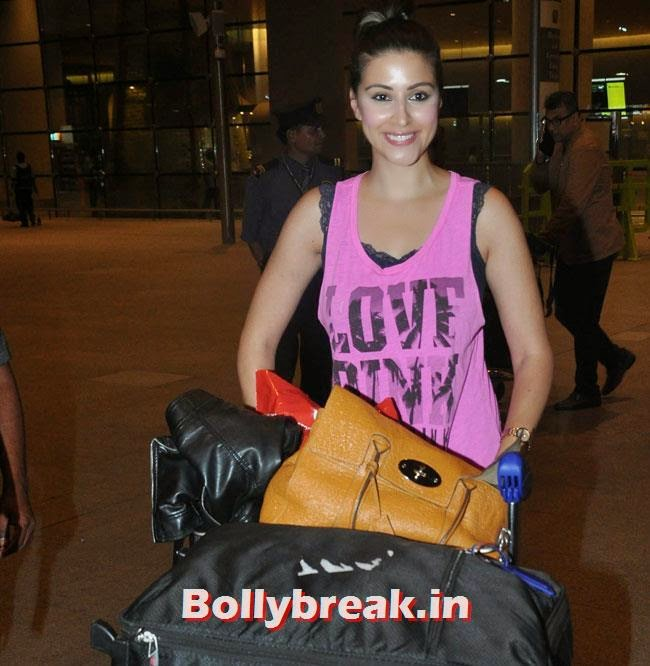 , Elli, Deepika, Kangana Arrive Back From IIFA