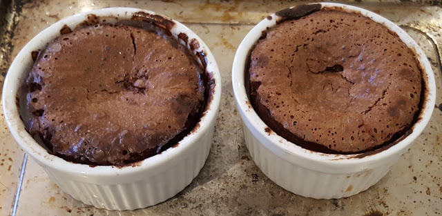 Baked Molten Lava Cakes