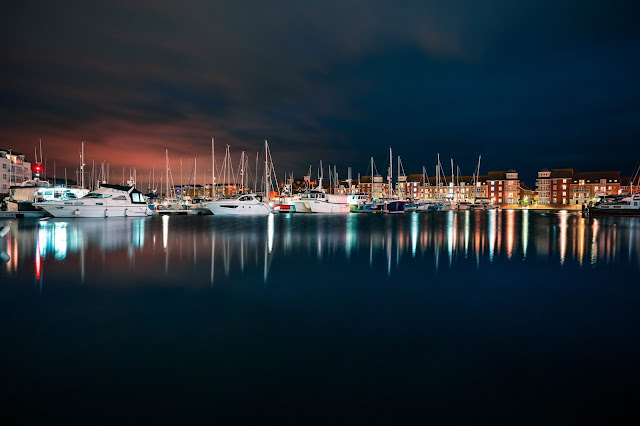 Eastbourne Harbour - Sony 24mm review - Gareth Evans