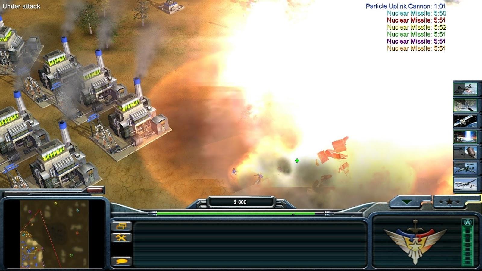 Command Conquer Generals Zero Hour Gameplay Giatbanget