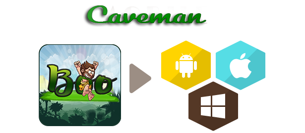 Boo Caveman -File Buildbox -7 different stage - 1