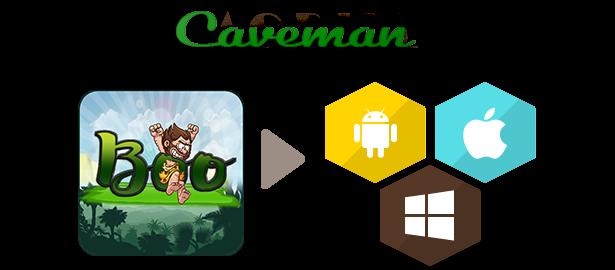 Boo Caveman - Game Adventure - Xcode - 1