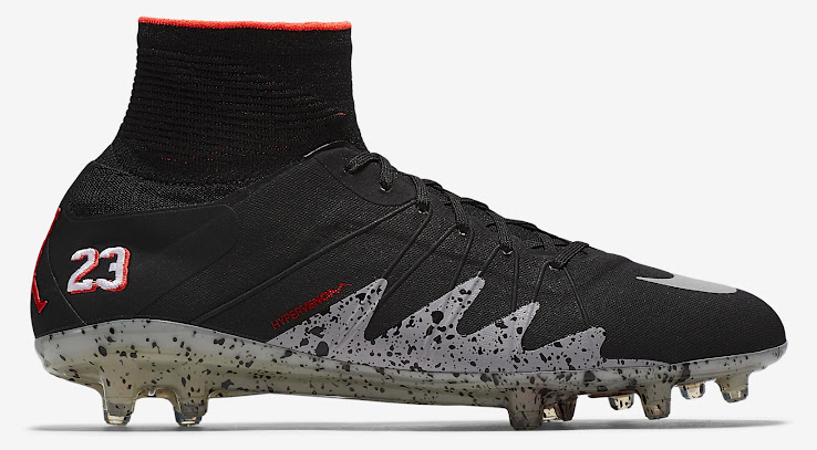 best sneakers 9c64c 1ceca Nike Hypervenom Phantom 2 Neymar x Air Jordan - Black   Reflective Silver    Infrared