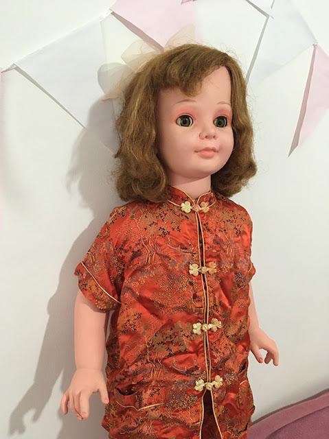 boneca Amiguinha pintada