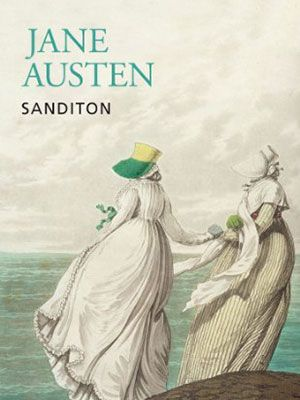 Sandition, book cover for the final and unfinished novel by Jane Austen