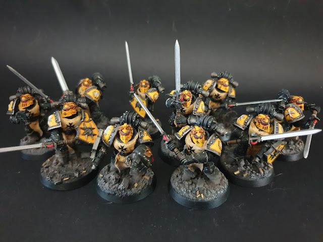 30k Imperials Fists Templar Squad