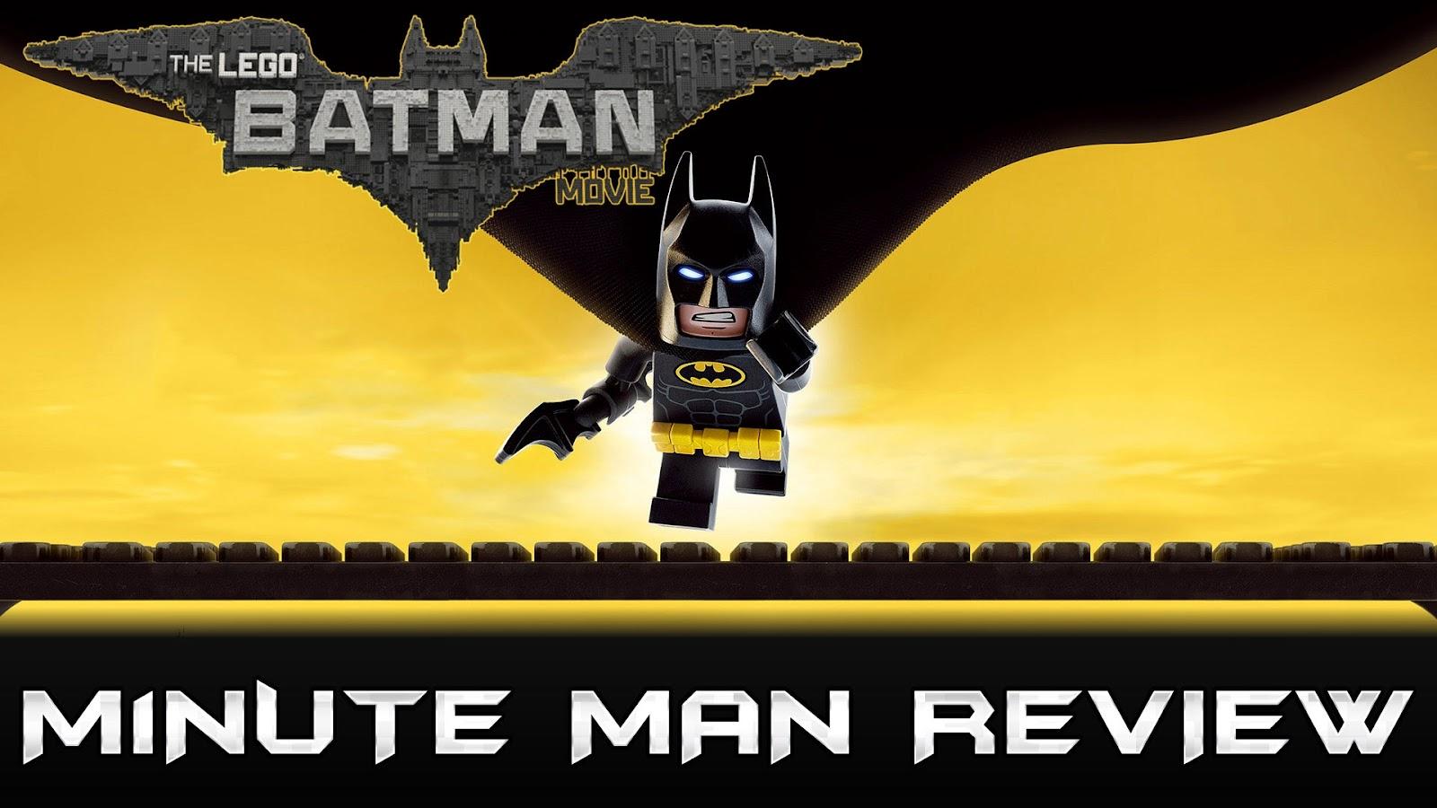 movie review THE LEGO BATMAN MOVIE podcast
