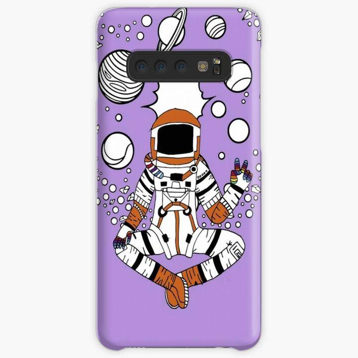 Happy Astronaut Phone Snap Case